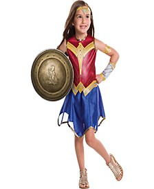 Wonder Woman Little and Big Girls 12 Shield