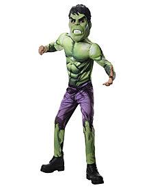 Avengers Assemble Deluxe Hulk Boys Costume