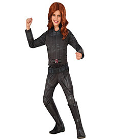 Marvels Captain America: Civil War Deluxe Black Widow Girls Costume