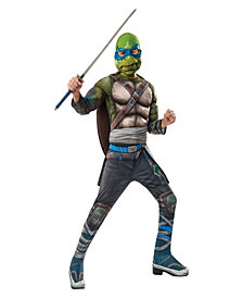 Ninja Turtles Movie Deluxe Leonardo Boys Costume