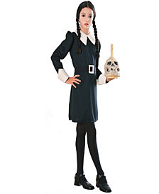 The Addams Family Wednesday Girls Costume