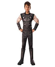Marvel Avengers Infinity War Thor Deluxe Boys Costume