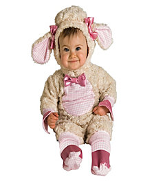 Pink Bunny Baby Girls Costume