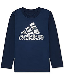 adidas Little Boys Logo-Print T-Shirt