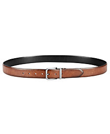 Tommy Hilfiger Men's Feather-Edge Reversible Casual Belt