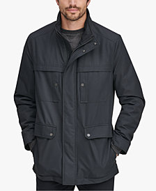 Marc New York Men's Rigby Bonded-Jersey Raincoat