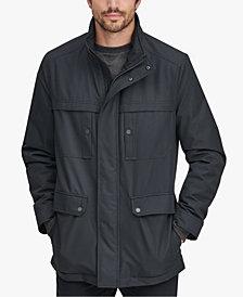 Marc New York Men's Rigby Bonded-Jersey Raincoat