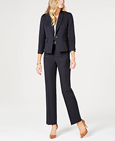 Le Suit Petite Striped Pant Suit