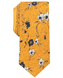 Tallia Men's Shelton Floral Slim Tie