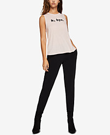 BCBGeneration Graphic Muscle Tank Top