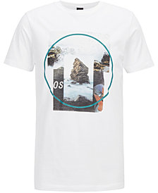 BOSS Men's Graphic Cotton T-Shirt