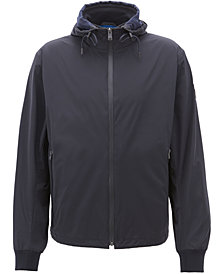 BOSS Men's Water-Repellent Packable Windbreaker