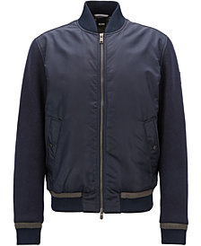 BOSS Men's Water-Repellent Quilted Jacket
