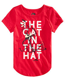 Hybrid Little Girls Dr. Seuss The Cat In The Hat T-Shirt