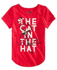 Hybrid Little Girls Dr. Seuss The Cat In The Hat T-Shirt