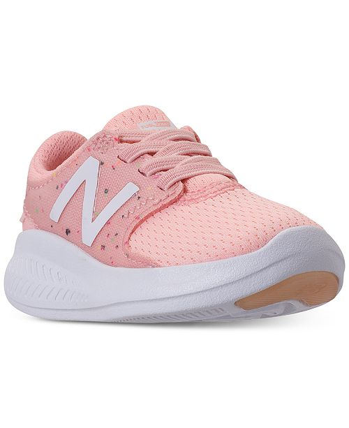 5cbf8cd3 New Balance Toddler Girls' FuelCore Coast v3 Running Sneakers from ...