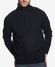Weatherproof Vintage Men's Soft Touch Textured 1/4-Zip Sweater