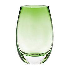 Badash Crystal Crescendo Spring Green Vase