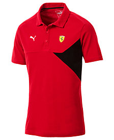 Puma Men's Ferrari Colorblocked Polo