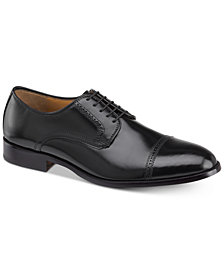 Johnston & Murphy Men's Bradford Cap-Toe Bluchers