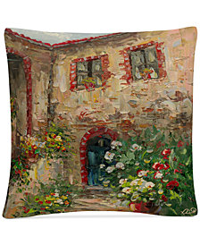 "Rio Tuscany Courtyard 16"" x 16"" Decorative Throw Pillow"