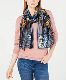 Vince Camuto Wallpaper Floral Scarf