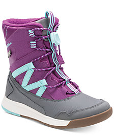 Merrell Toddler, Little & Big Girls Snow Crush Boots