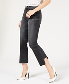 Hudson Jeans Holly Step-Hem Skinny Jeans