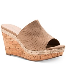 Shira Platform Wedge Sandals, Created For Macy's
