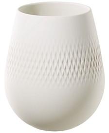White Carre Vase NO.2