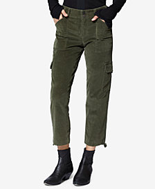 Sanctuary Terrain Cropped Cargo Pants