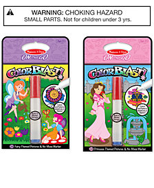 Melissa & Doug 2-Pk. ColorBlast! Princess & Fairy Bundle
