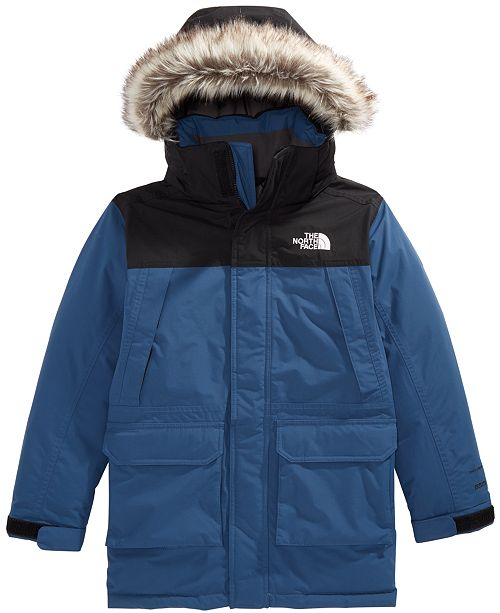 31d471154 The North Face Little   Big Boys McMurdo Hooded Parka with Faux-Fur ...