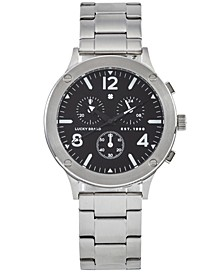 Men's Chronograph Rockpoint Stainless Steel Bracelet Watch 42mm