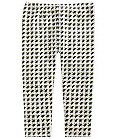 First Impressions Toddler Girls Houndstooth-Print Leggings, Created for Macy's
