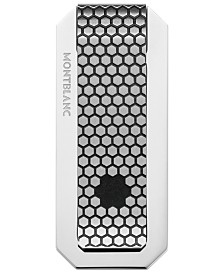Montblanc Men's Star Honeycomb-Pattern Stainless Steel Money Clip
