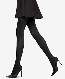 HUE® Control-Top Blackout Tights