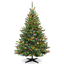 National Tree 6' Kincaid Spruce Tree with 400 Multicolor Lights