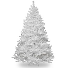 National Tree Company 7 .5' Winchester White Pine Tree with Silver Glitter