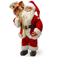"National Tree 11.8"" Standing Santa"