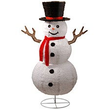 "National Tree 72"" Pop-Up Snowman"