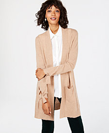 Charter Club Pure Cashmere Open-Front Cardigan, in Regular & Petite Sizes, Created for Macy's