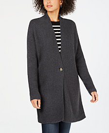 Charter Club Petite Single-Button Cardigan, Created for Macy's