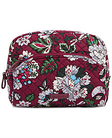 Vera Bradley Iconic Medium Cosmetic Bag