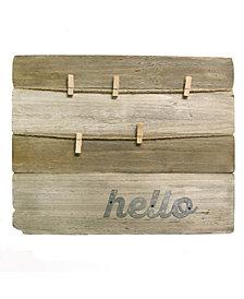 Woodplank Clip Board