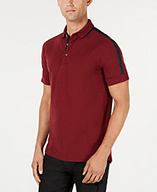 A|X Armani Exchange Men's Stripe Sleeve Polo