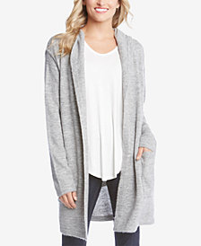 Karen Kane Long Hooded Cardigan Sweater