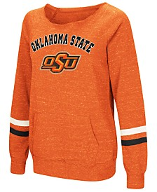 Colosseum Women's Oklahoma State Cowboys Off the Shoulder Fleece Sweatshirt