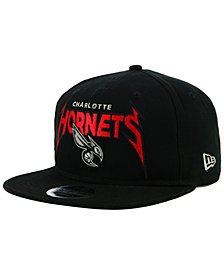 New Era Charlotte Hornets 90s Throwback Groupie 9FIFTY Snapback Cap
