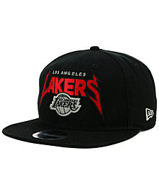 New Era Los Angeles Lakers 90s Throwback Groupie 9FIFTY Snapback Cap